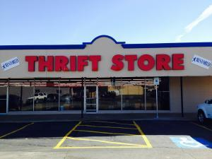 Thrift Store outside-Haltom City